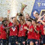Lille beat PSG to clinch French Super Cup